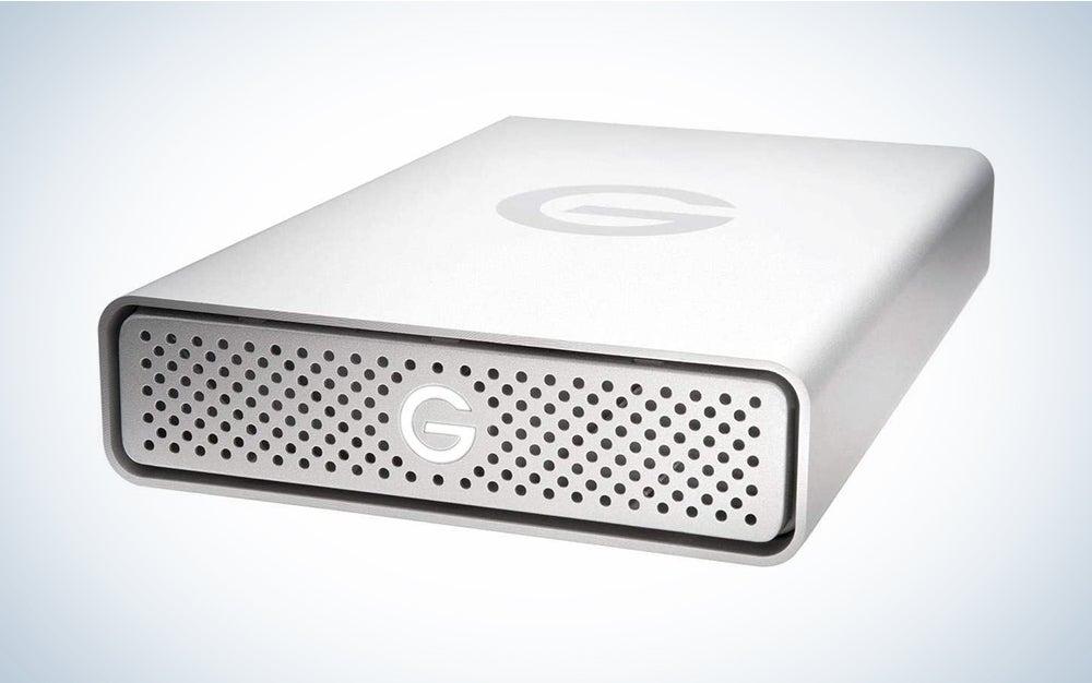 G-Technology 14TB G-DRIVE USB 3.0 Desktop External Hard Drive, Silver - Compact, High-Performance Storage