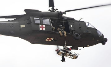Getting rescued by helicopter has risks. This gadget could make it safer.
