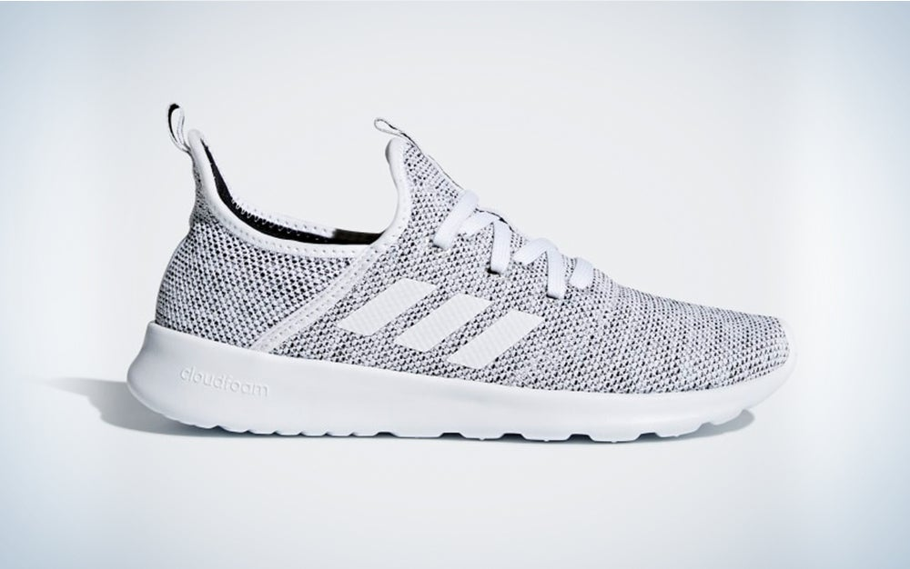 grey adidas Women's Cloudfoam Pure Running Shoe