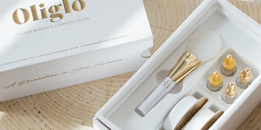 Oligio Golden Radiance Complete Mask and Serum Set