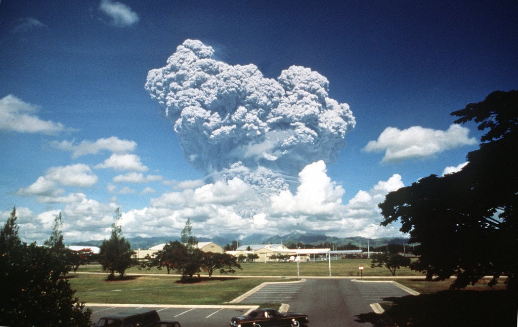 1991 eruption of Mount Pinatubo in the Philippines