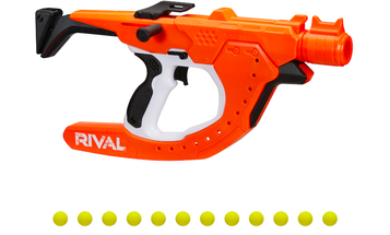 Nerf's newest blaster shoots spinning balls for dramatic curves
