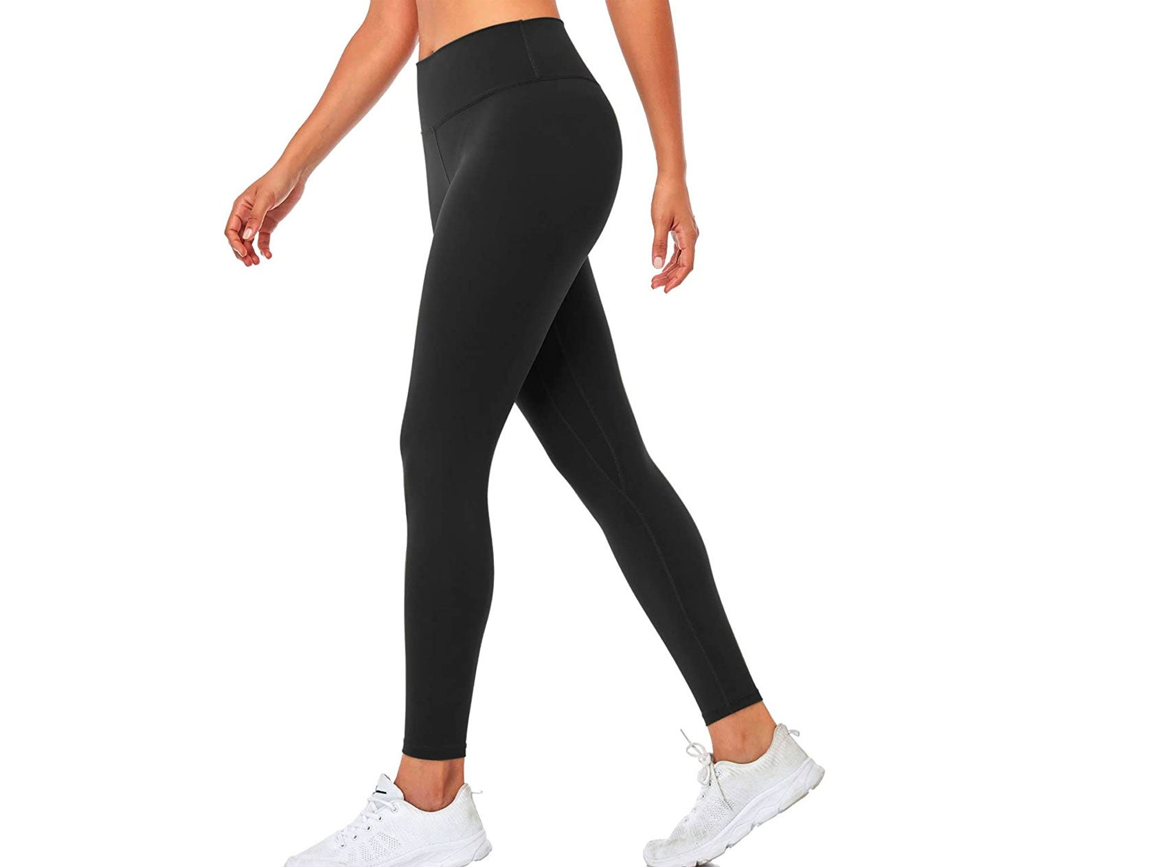 SIHOHAN Yoga Pants for Women, High Waist Tummy Control Stretch Gym Workout Running Leggings, Fitness Sports Tights with Inner Pocket