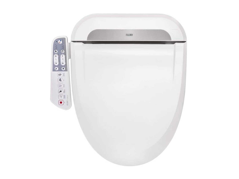 R FLORY Bidet Intelligent Toilet Seat FDB600 Energy-Saving Warm Water Air Dry Elongated-UK