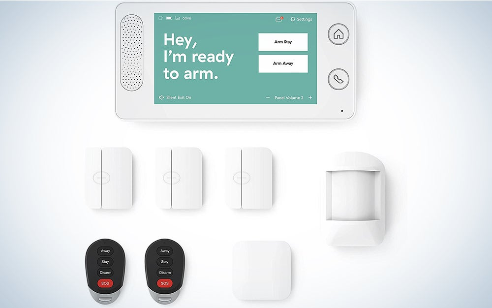 Cove 8 Piece Wireless Home Security System