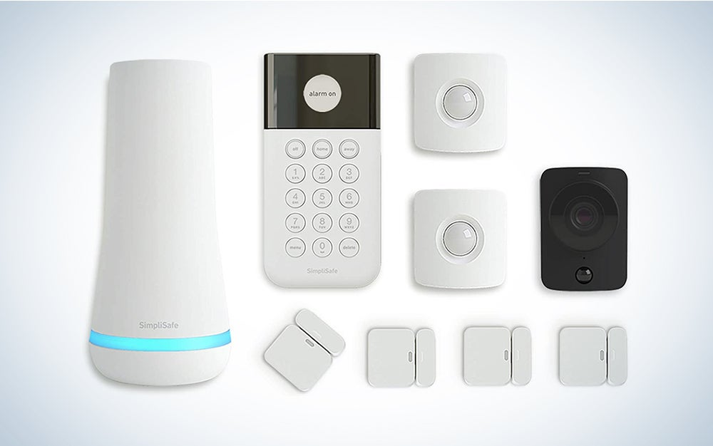 SimpliSafe 9 Piece Wireless Home Security System