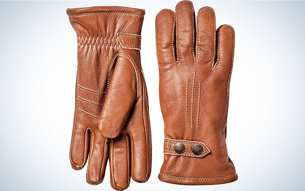 Hestra Mens Leather Gloves