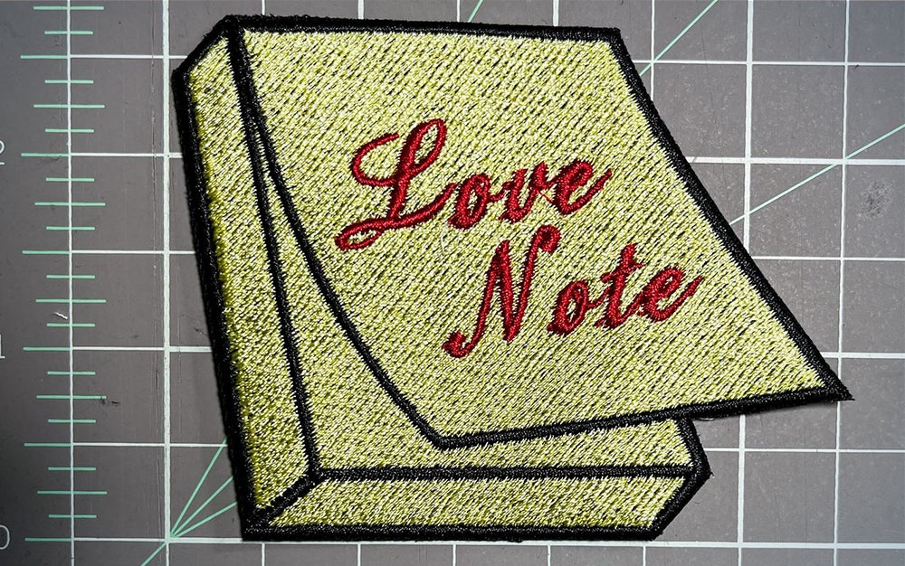 Love note patch