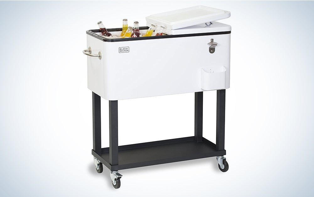 Black+Decker Mobile Cooler Cart