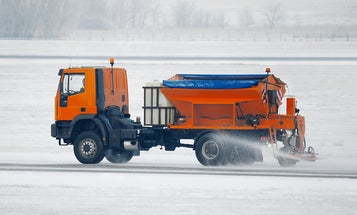 Fish blood could hold the answer to safer de-icing solutions during snowstorms