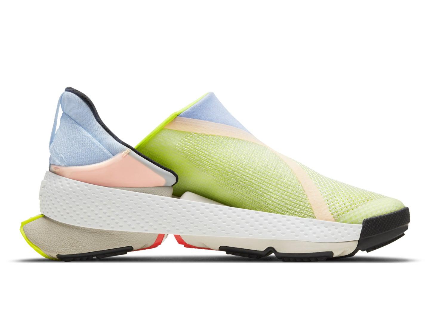 Nike's Go FlyEase sneaker on white.