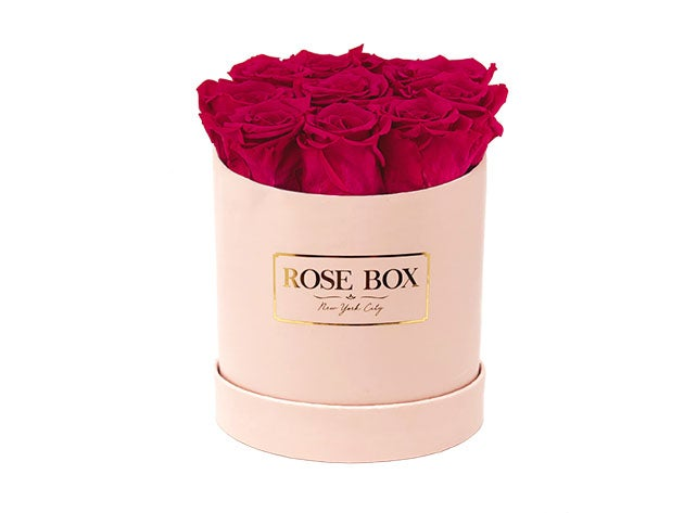Small Pink Box With Roses