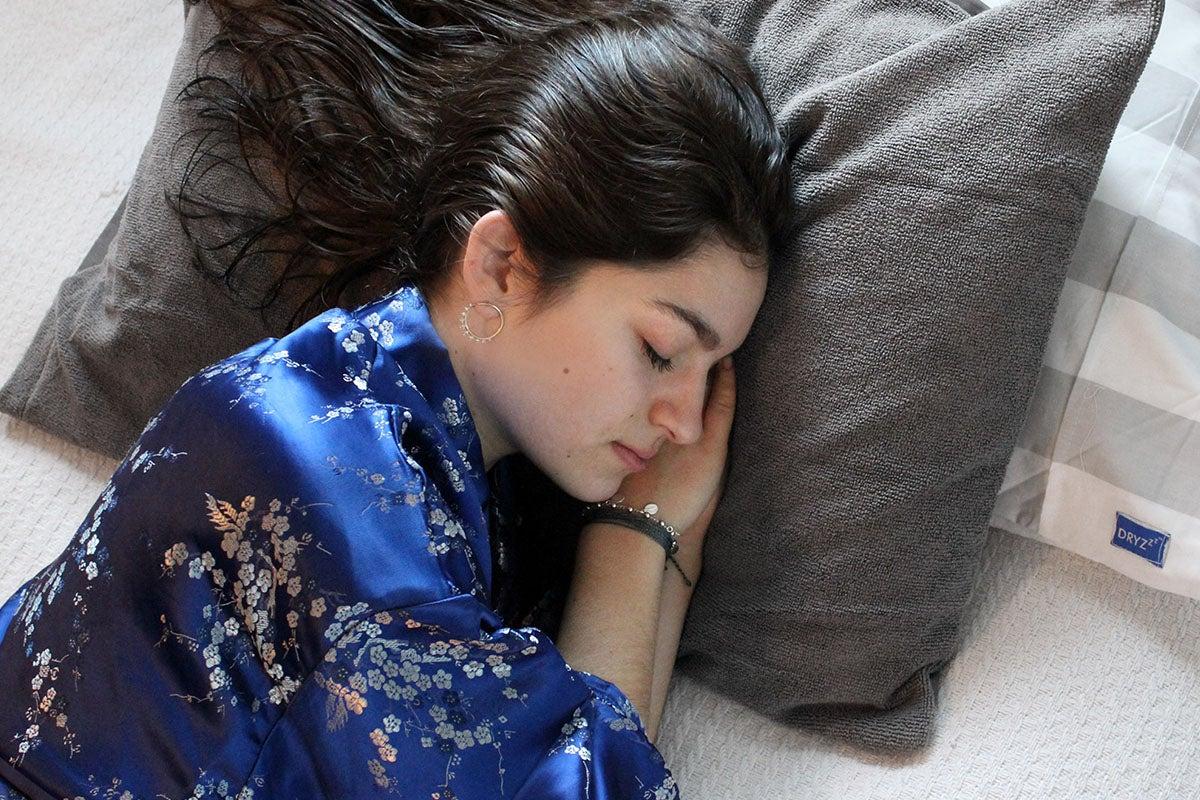 DryZzz two-sided pillowcase