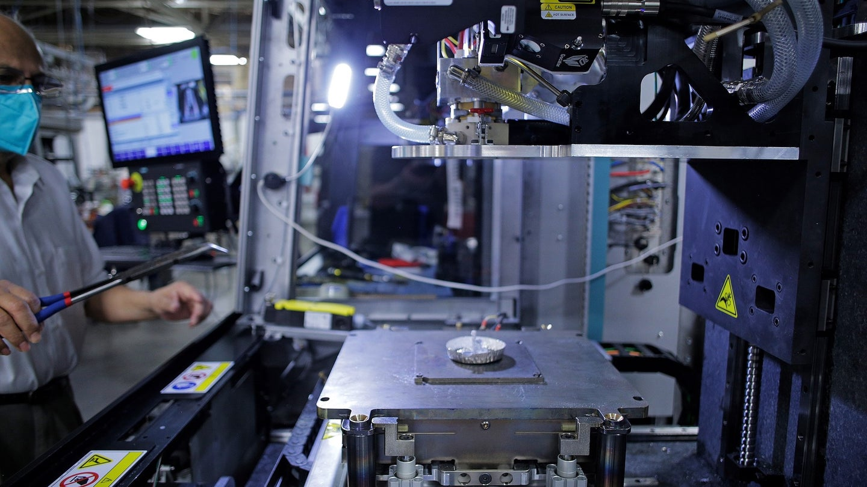 The ElemX liquid metal printer.