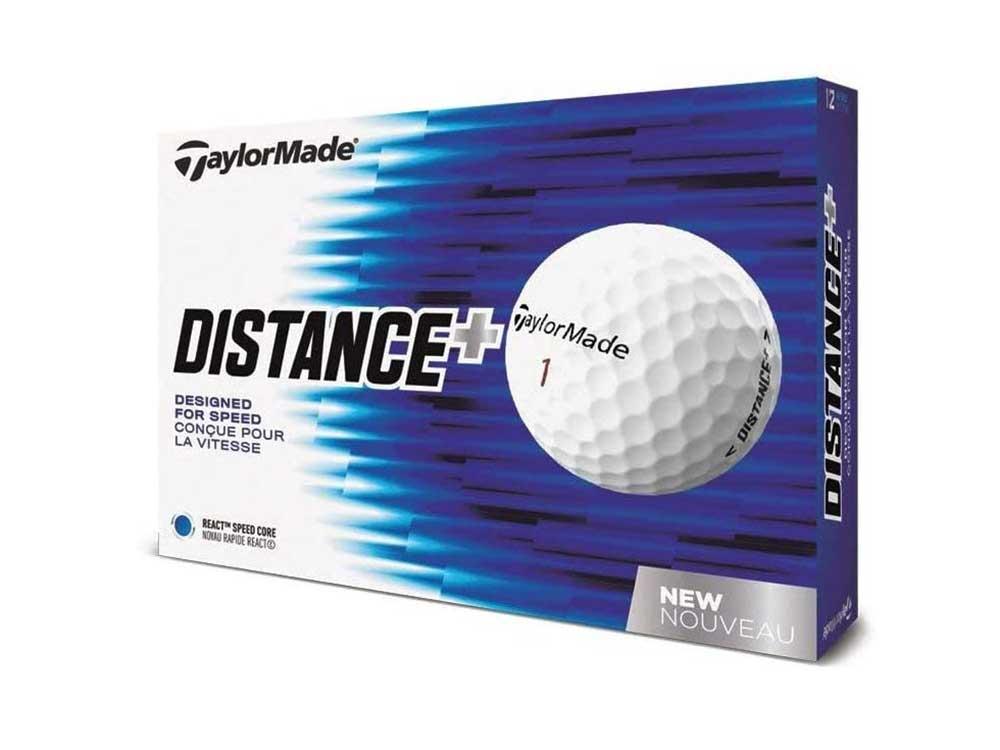 TaylorMade 2018 Distance+ Golf Ball One Dozen