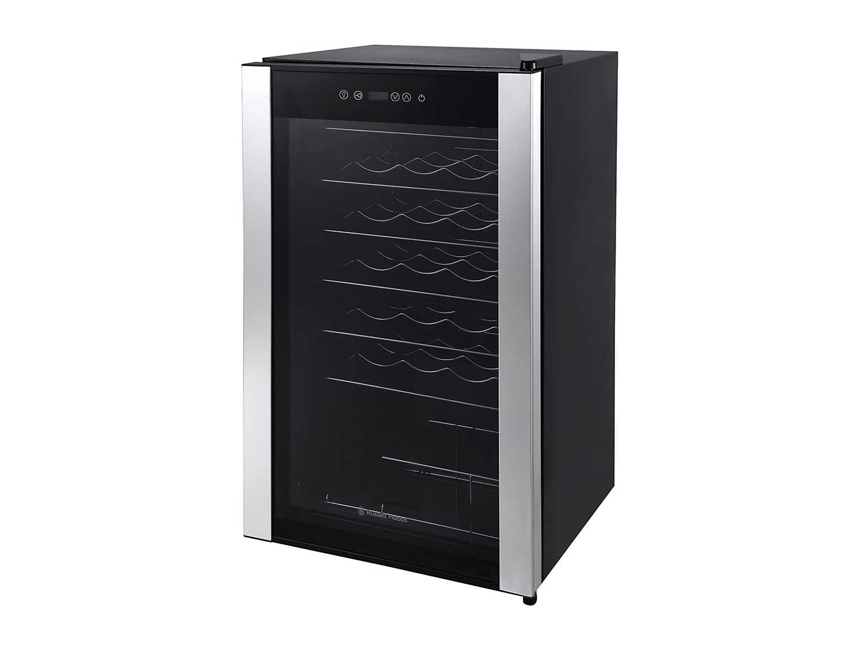 Russell Hobbs RH34WC1 Freestanding Wine Cooler, 34 bottle capacity, Black [Energy Class A++]