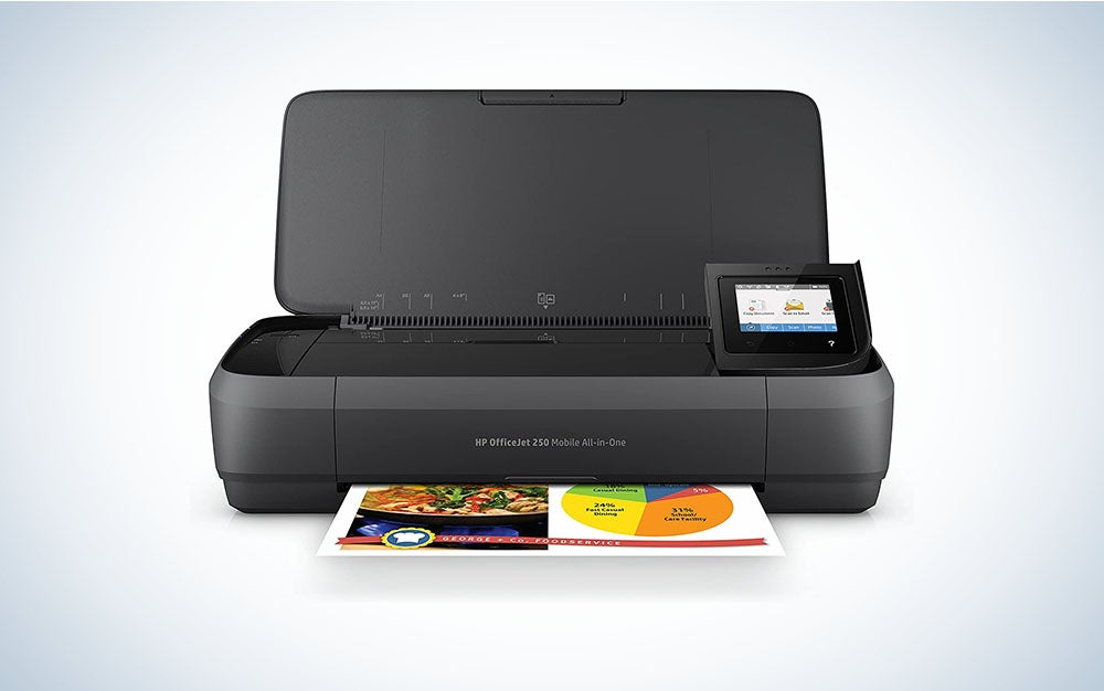 HP OfficeJet 250 is one of the best all in one printers
