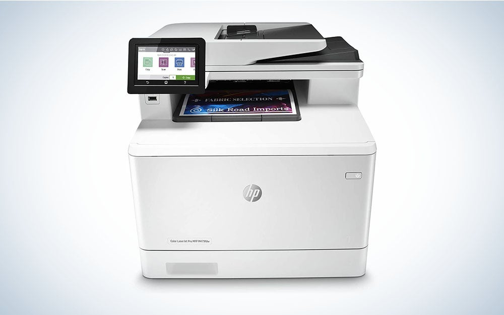 HP Color Laserjet Pro M479fdw is the best all-in-one-printer