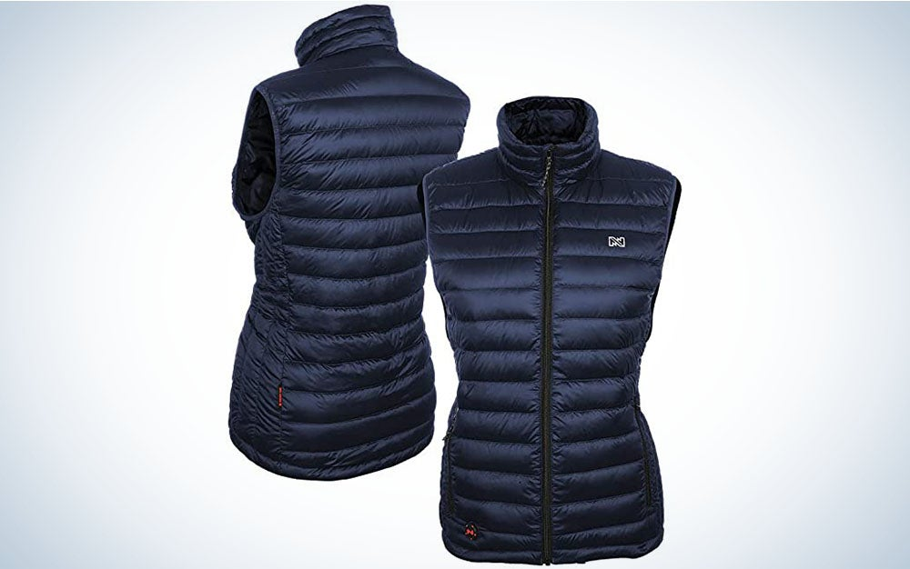 Mobile Warming Heated Down Vest