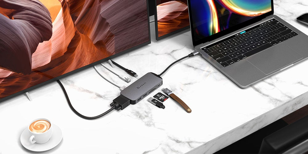 CASA HUB X: 10-in-1 USB-C 3.1 Port