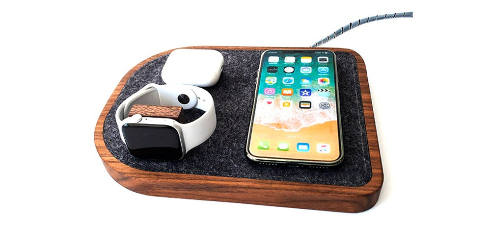 Wireless Charging Dock for iPhone, Apple Watch and AirPods