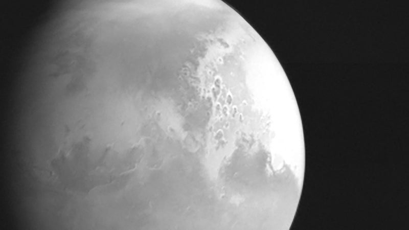Check out the first images of Mars from China's Tianwen-1 probe