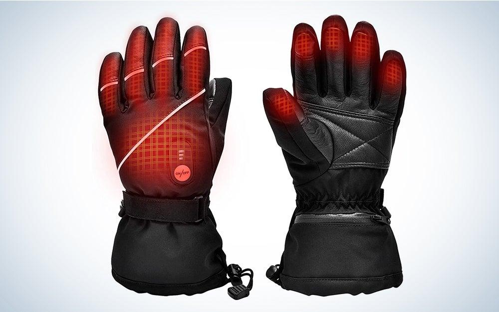 Snow Deer Heated Gloves