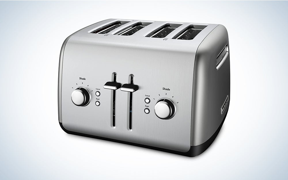 KitchenAid 4-Slice Toaster with Manual High-Lift Lever is the best toaster