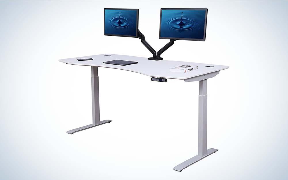 The ApexDesk Elite Series Adjustable Standing Desk is the best overall.