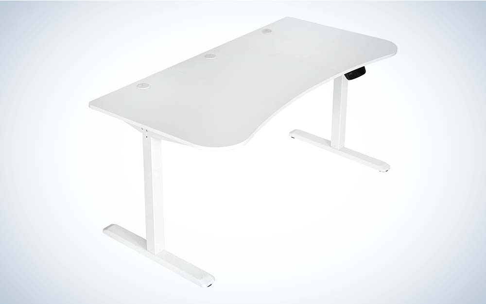 This VIVO standing desk is the best model for gaming.