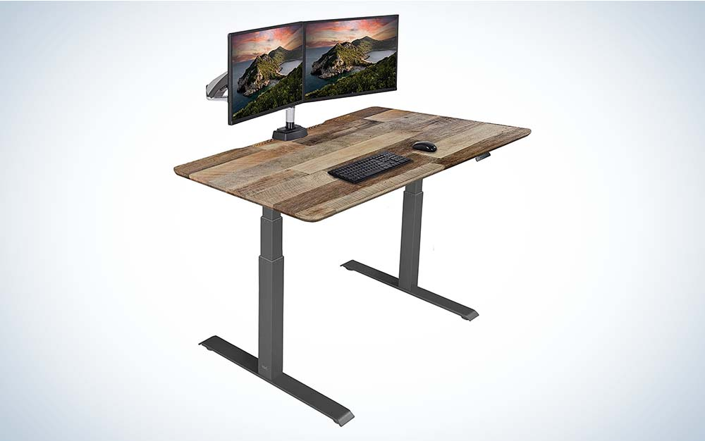 The Vari Electric Standing Desk is the best electric model.