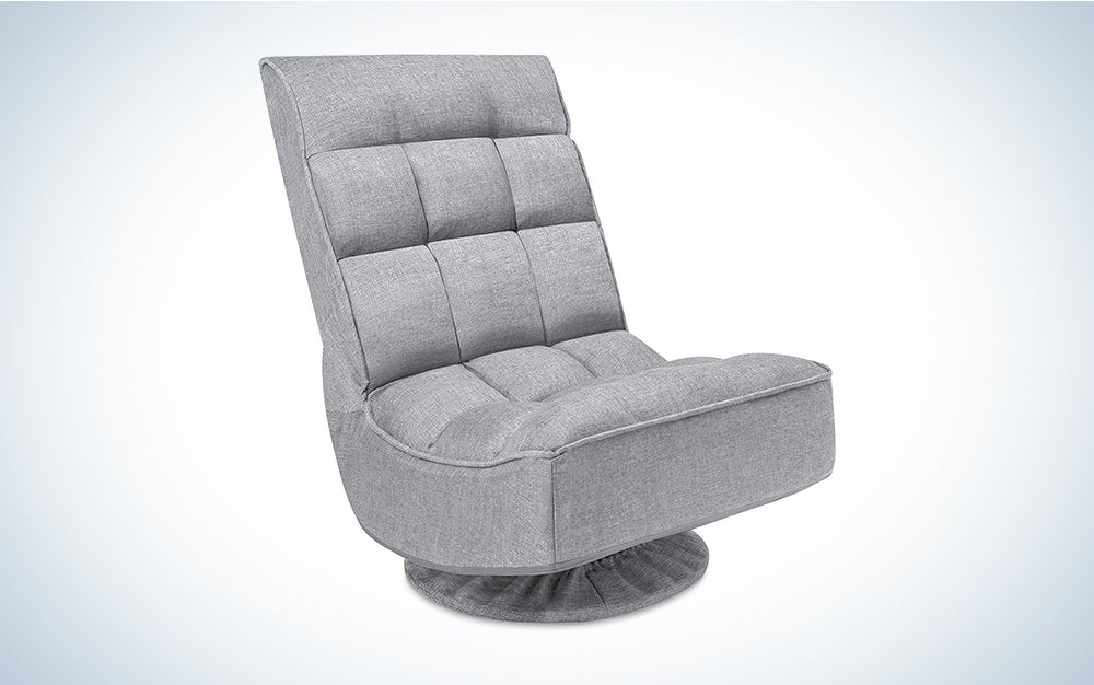 Best Choice Products Reclining Folding Floor Gaming Chair