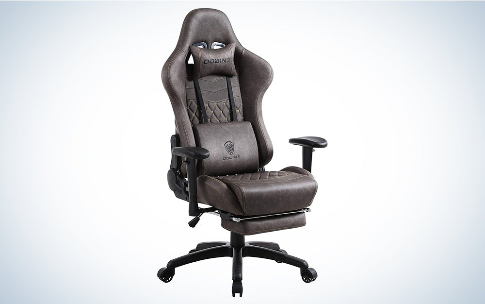 Dowinx Gaming Chair Ergonomic Retro Style Recliner