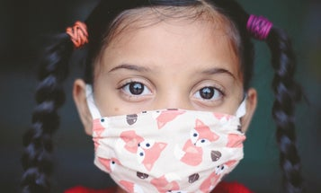 The CDC says COVID-19 is no match for two masks