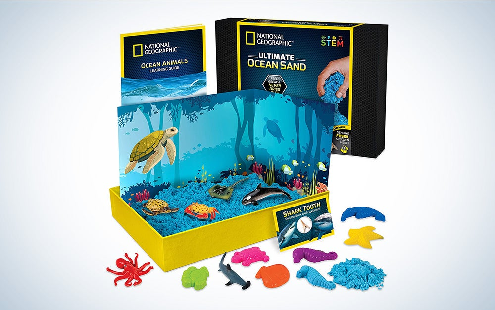 National Geographic Ocean Play Sand