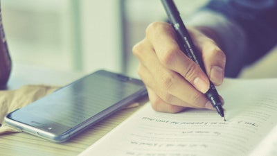 Turn your handwritten documents into searchable digital notes