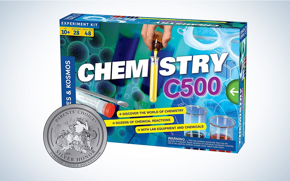 Thames & Kosmos Chemistry Chem C500 Science Kit