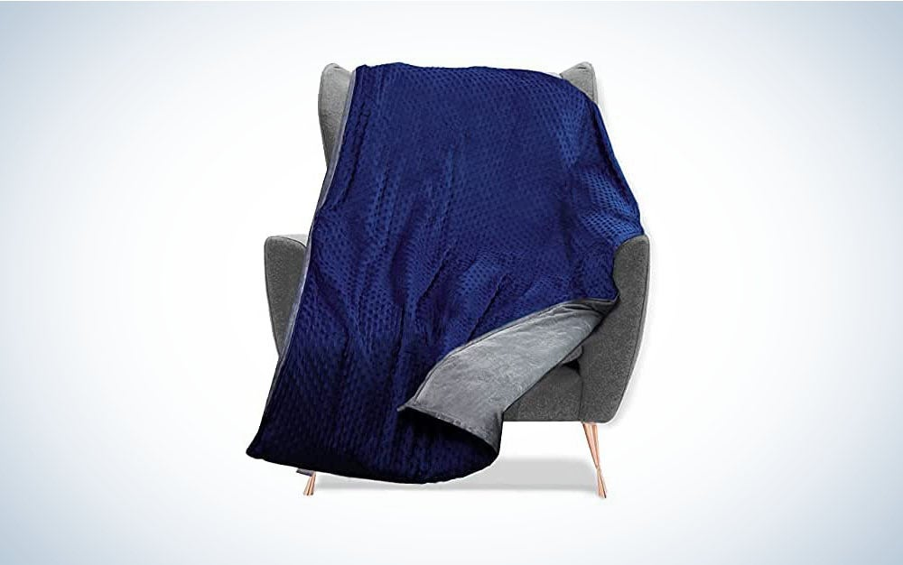 The Quility Weighted Blanket with Soft Cover is the best overall.