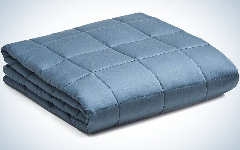 YnM Bamboo Weighted Blanket is the best cooling