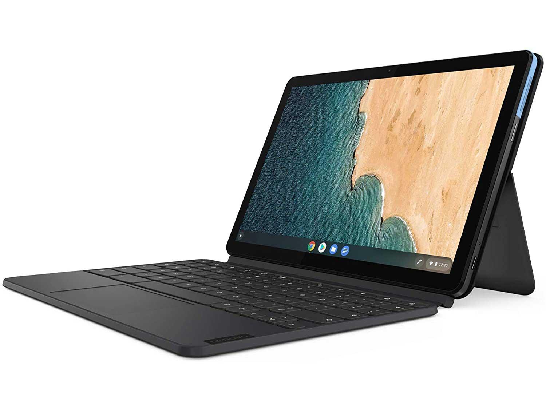 Lenovo IdeaPad Duet Chromebook 10.1 Inch FHD 2-in-1 Laptop - (MediaTek P60T, 4 GB RAM, 64 GB eMCP, Chrome OS)