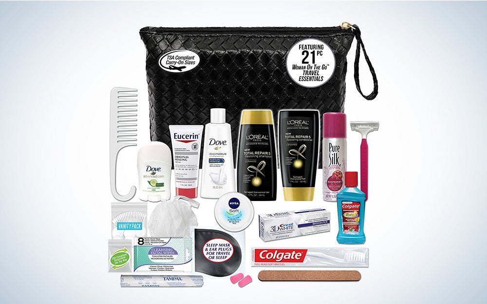 Convenience Kits International Assembled Necessities Travel Kit