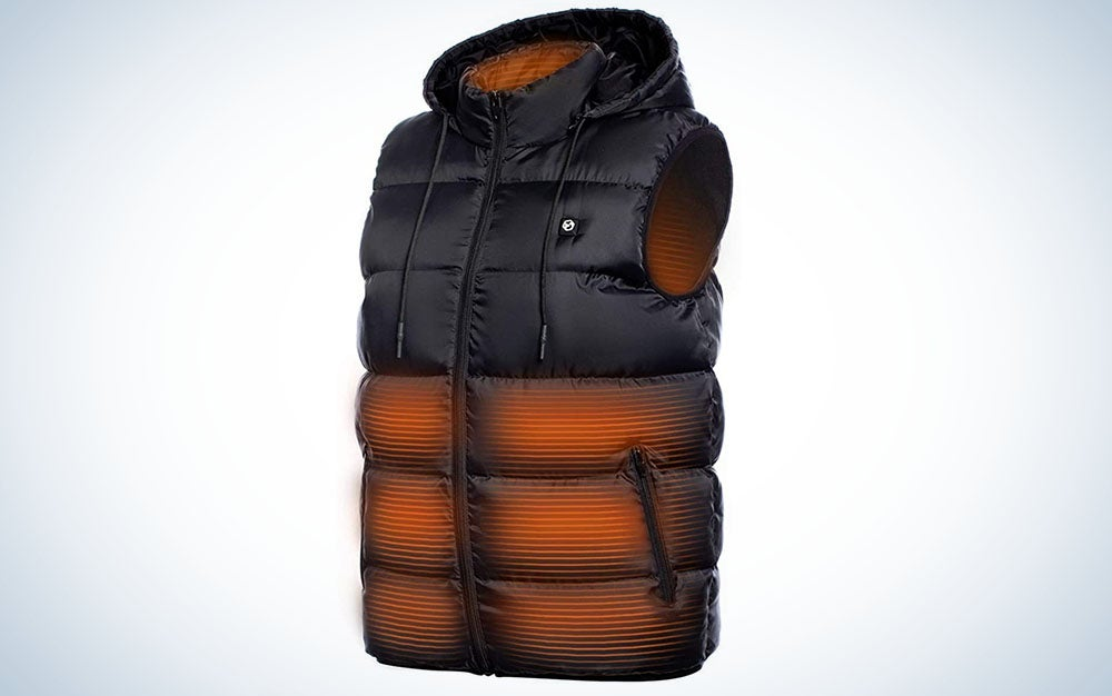 The Foxelli Heated Vest is the best rechargeable vest