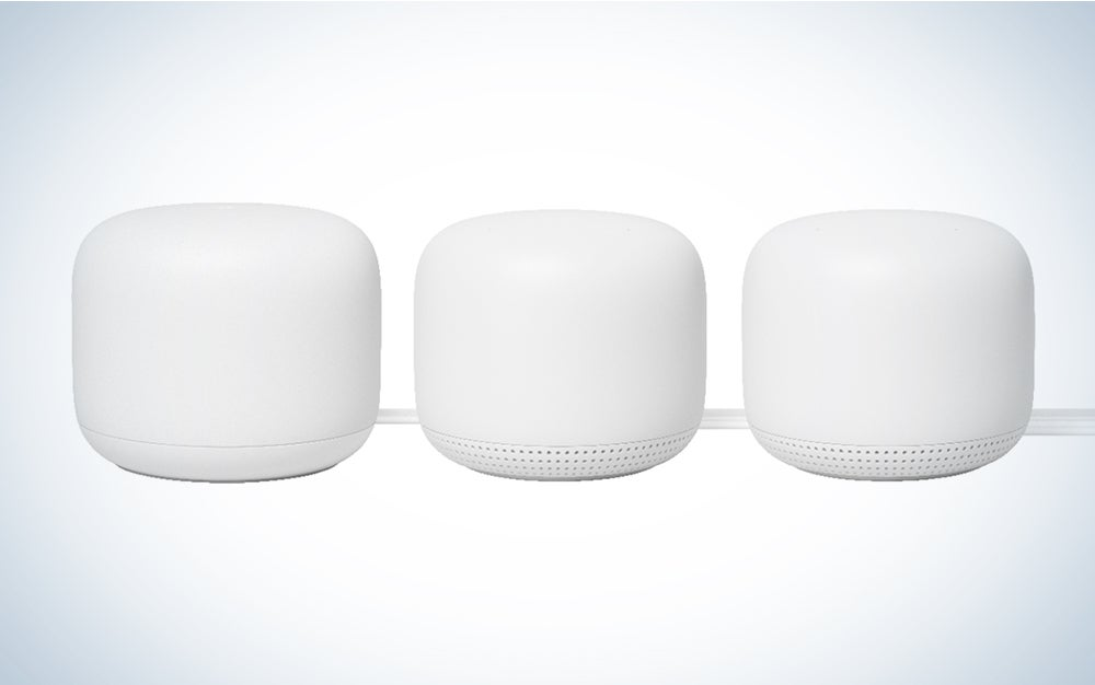 Google Nest Mesh System is the best mesh wifi system