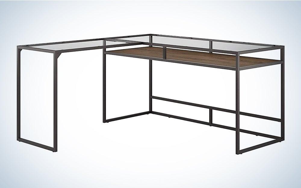 Bush Furniture Anthropology L shaped Desk