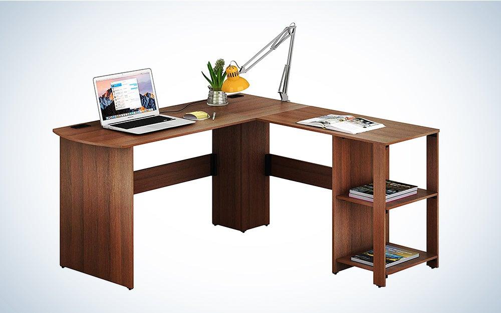 SHW L Shaped Corner Desk