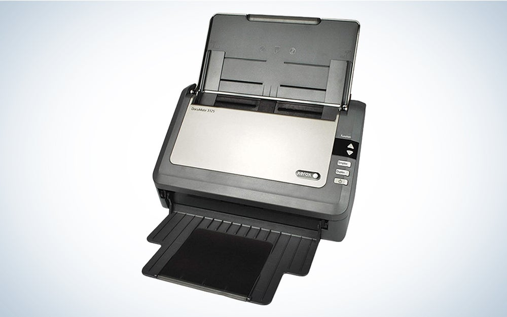 Xerox DocuMate 3125 Duplex Document Scanner for PC and Mac, Automatic Document Feeder (ADF)