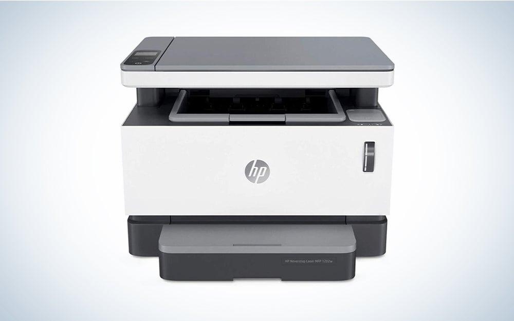 HP Neverstop All-in-One Laser Printer is one of the best all-in-one printer models you can buy.