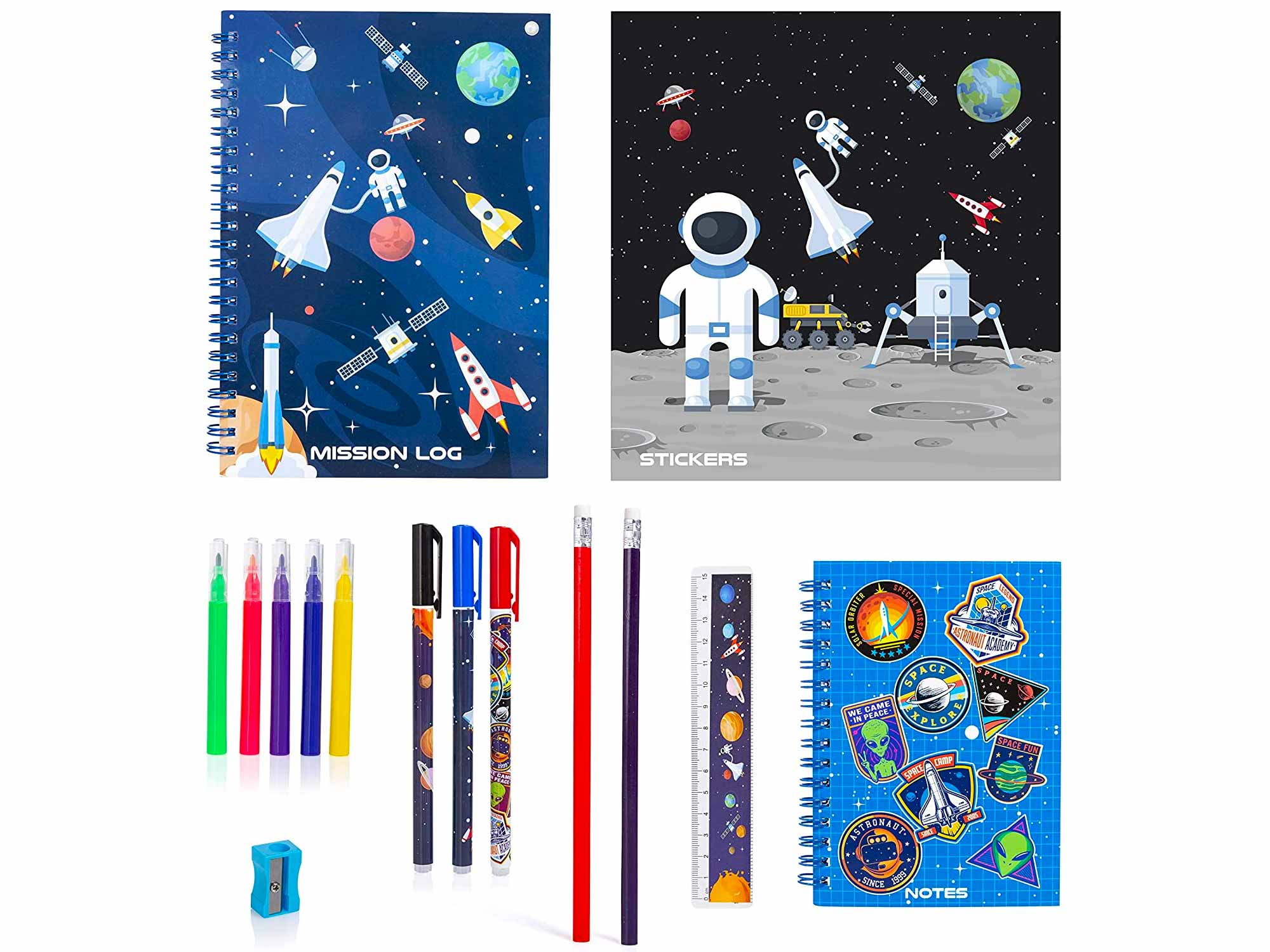 Space Stationery Set - Stationery Set for Boys and Girls