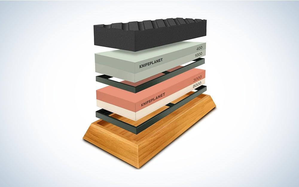 KnifePlanet Premium Whetstone Set