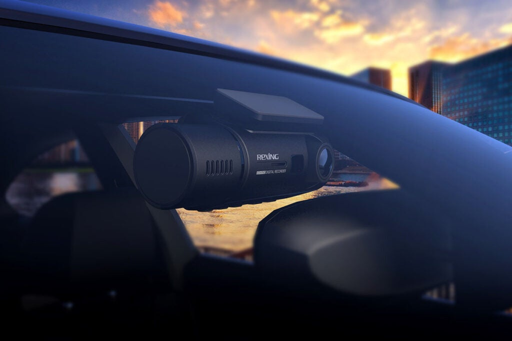 Rexing® V3 Dual Full HD Wi-Fi Dash Cam
